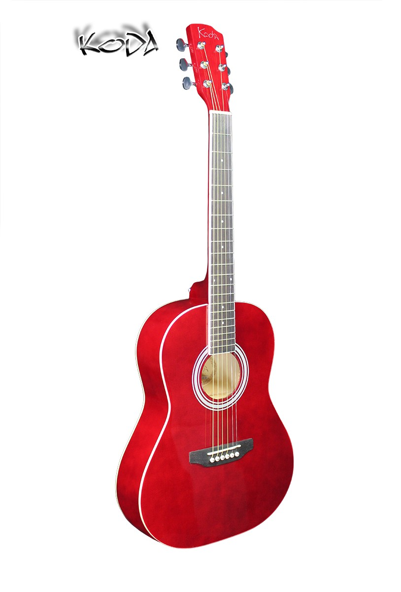 Koda 3/4 size Acoustic Guitar Pack - Red
